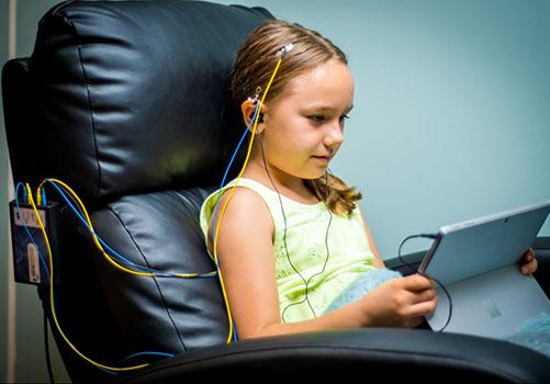 image enfant en séance NeurOptimal®