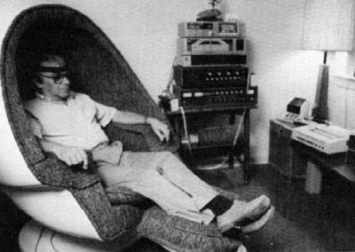 image séance avec première machine Neurofeedback